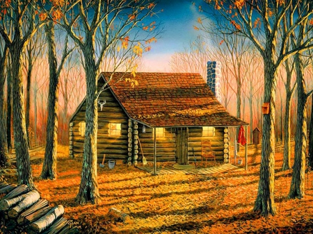 Woodland cabin - Other & Abstract Background Wallpapers on Desktop Nexus (Image 1600417)