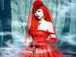 ~Red Rose Lady for Valentine~