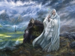 Gandalf and Grima