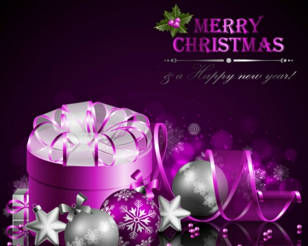 Merry Christmas & a Happy New Year - 3D and CG & Abstract ...