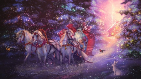 Russian Santa Claus' - Fantasy & Abstract Background Wallpapers on ...