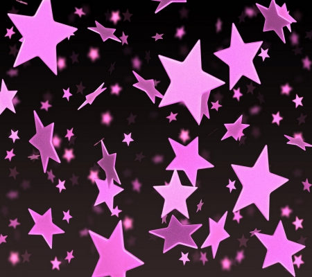 photo collection pink and black star wallpapers