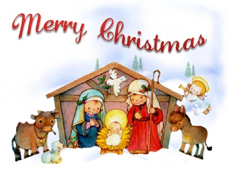 Merry Christmas - Jesus Christ, the Lord Wallpapers and Images ...