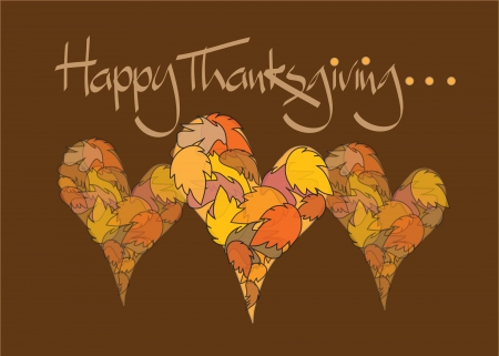 Happy thanksgiving 3d and cg abstract background - Thanksgiving day wallpaper 3d ...