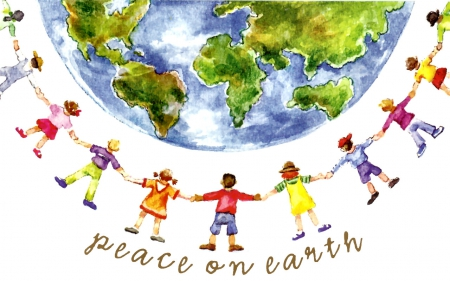 Peace on Earth 2 - Other & Abstract Background Wallpapers on ...