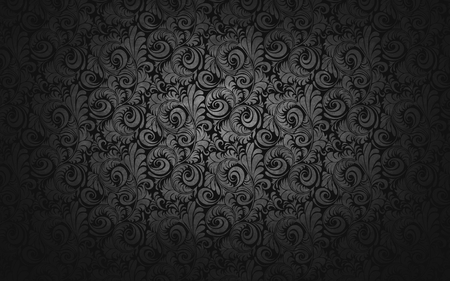 Dark and Silver Piecli Texture  - dark, texture, black, tendril, silver, picli
