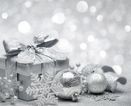Silver Christmas - Photography & Abstract Background Wallpapers on ...