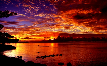 Dramatic Sunset Sunsets Nature Background Wallpapers HD Wallpapers Download Free Images Wallpaper [1000image.com]