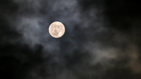 FULL MOON NIGHT - moon, sky, fullmoon, night