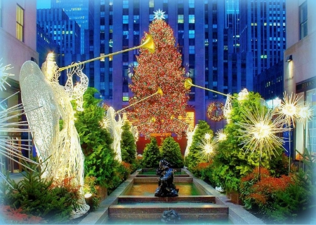 �rockefeller christmas tree� photography amp abstract