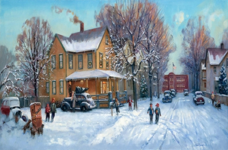 A Christmas Story - Fantasy & Abstract Background ...