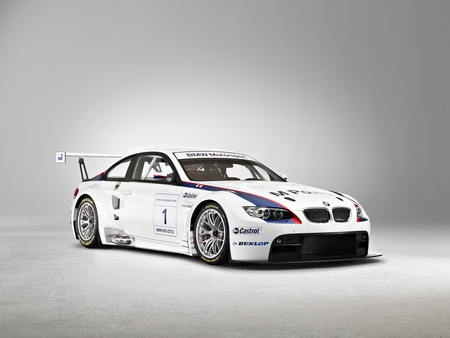 BMW M3 GTR - bmw, cool, race, white, car