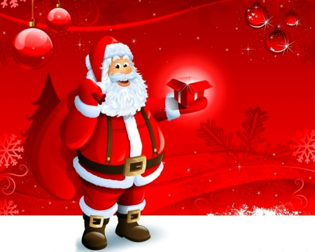 Santa Claus 3d And Cg Amp Abstract Background Wallpapers