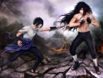 Sasuke vs Madara