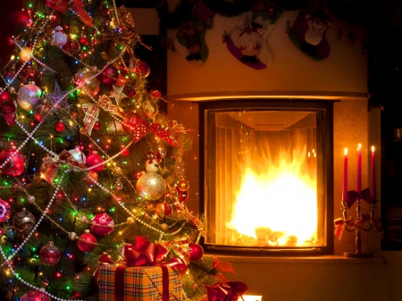 Cozy Christmas home - Other & Abstract Background Wallpapers on ...