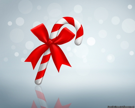 Christmas Candy Cane - Other & Abstract Background Wallpapers on ...