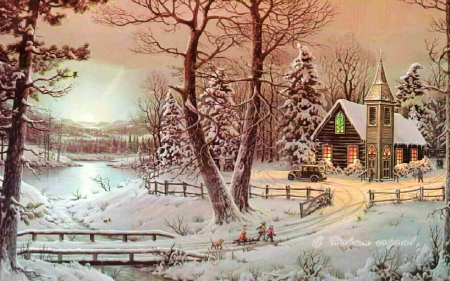 Country Christmas Backgrounds For Pictures