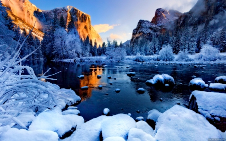 Winter landscape winter nature background wallpapers on desktop nexus image 1638030 - Beautiful frozen computer wallpaper ...