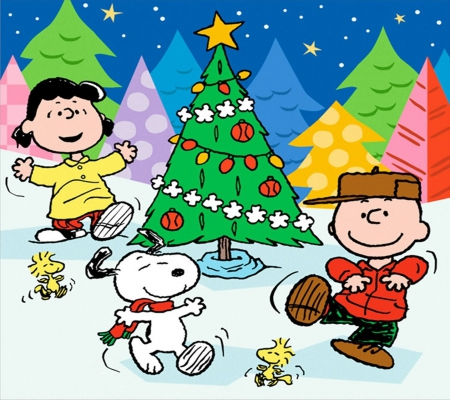 Peanuts Christmas - Movies & Entertainment Background Wallpapers ...