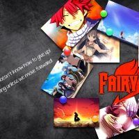 Fairy tail Blackboard