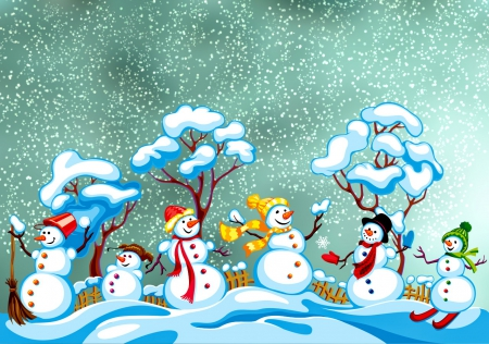 Winter Friends Other Amp Abstract Background Wallpapers On