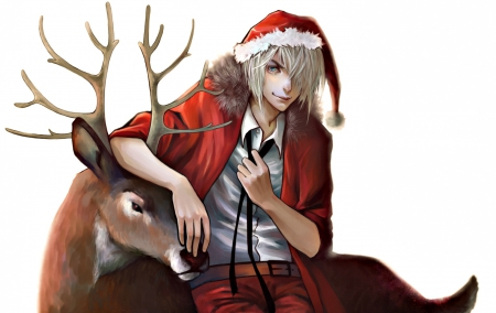 Anime Santa - Other & Anime Background Wallpapers on Desktop Nexus ...