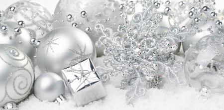 Silver Christmas * - Photography & Abstract Background Wallpapers ...