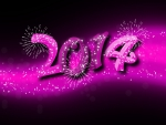 "Purple New Year ""2014"""