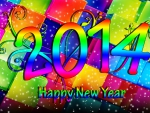 ..New Year Colorful 2014..