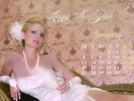 Roselbell Rafferr January 2014 Calendar