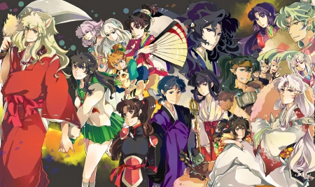 The Gangs All Here - final, inuyasha, act, gang