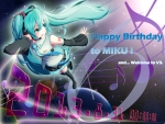 Happy Birthday To Miku!!