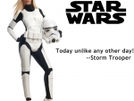 Star Wars Storm Trooper in-between wars