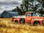 old international pickup truck hdr