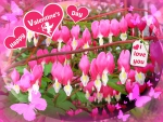 ♥ Valentine Heart Flowers ♥