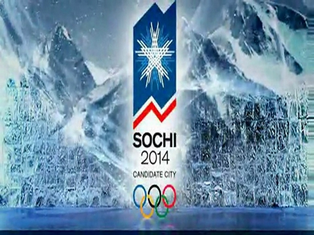 2014 Olympics - Sochi, olympics, mountains, Olympic rings
