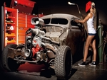 HOT ROD BABE