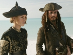 Elizabeth Swann and Captain Jack Sparrow!