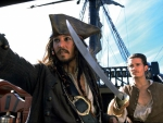 Captain Jack Sparrow and Will Turner!