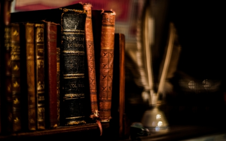 Books Wallpaper old books - other & abstract background wallpapers on desktop
