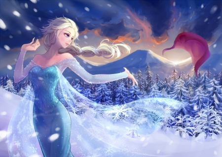 Frozen Other Amp Anime Background Wallpapers On Desktop