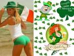 St. Patrick's Day Cowgirl