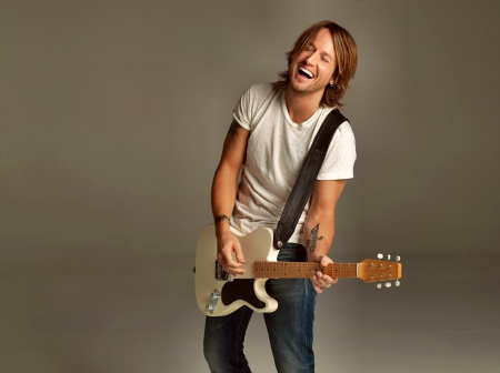 Keith Urban - Music, guitar, smile, Urban, Keith