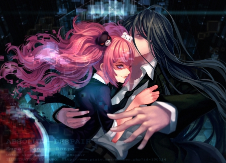 Pure darkness other anime background wallpapers on - Dark anime couples ...