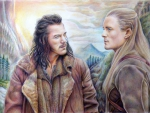 Legolas and Bard the Bowman