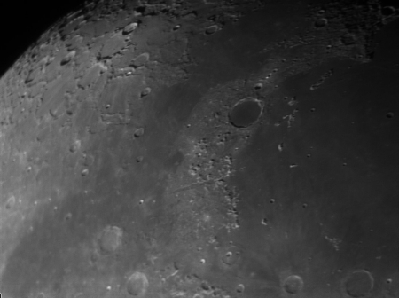 lunar craters - moon, space, craters, nature