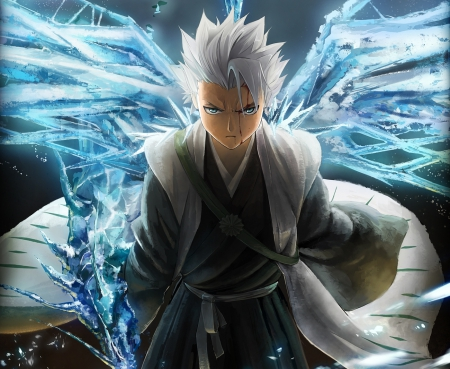 Hitsugaya toushirou bleach anime background wallpapers - Anime boy dragon ...