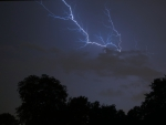 lightning in the skys of lincoln