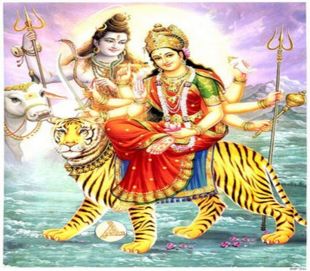 Goddess Durga ( Mother of the Universe ) - shiva, hindu, supreme, durga, mother, mata, india, divine, god, lord, hinduism