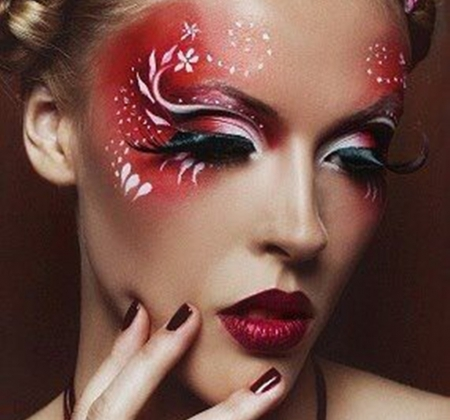 artistic make up - people, models, photography, makeup, fashion